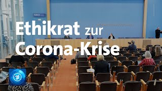 Wie könnten die massiven alltags-beschränkungen gelockert werden? der deutsche ethikrat äußert sich zur corona-krise.