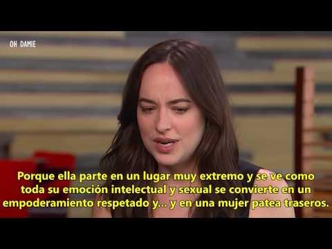 SUBTITULADO: Dakota entrevista sobre los músculos de Jamie Ana y Cincuenta