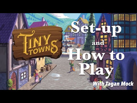 How To Set Up And Play:  Tiny Towns (AEG Board Game)