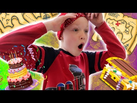 EPIC Birthday TREASURE HUNT Surprise Party! 8 Year Old Dream Come True!