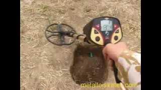 Катушка NEL TORNADO  для FISHER F-2, тест в грунте на монеты