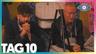 Promi Big Brother Talk | Tag 10 | Jürgen zieht aus & Doppelnominierung