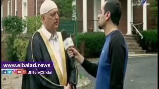إمام مسجد بأمريكا: متخوفون من تصريحات «ترامب» ضد المسلمين.. فيديو
