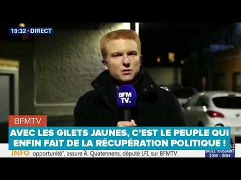 AVEC LES GILETS JAUNES, C'EST LE PEUPLE QUI ENFIN FAIT DE LA RÉCUPÉRATION POLITIQUE !