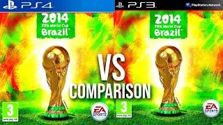 FIFA World Cup 2014 PS4 Vs PS3 screenshot 4