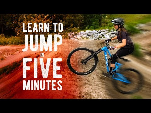 Learn To Jump A Mountain Bike In 5 MINUTES // From A Certified MTB Coach