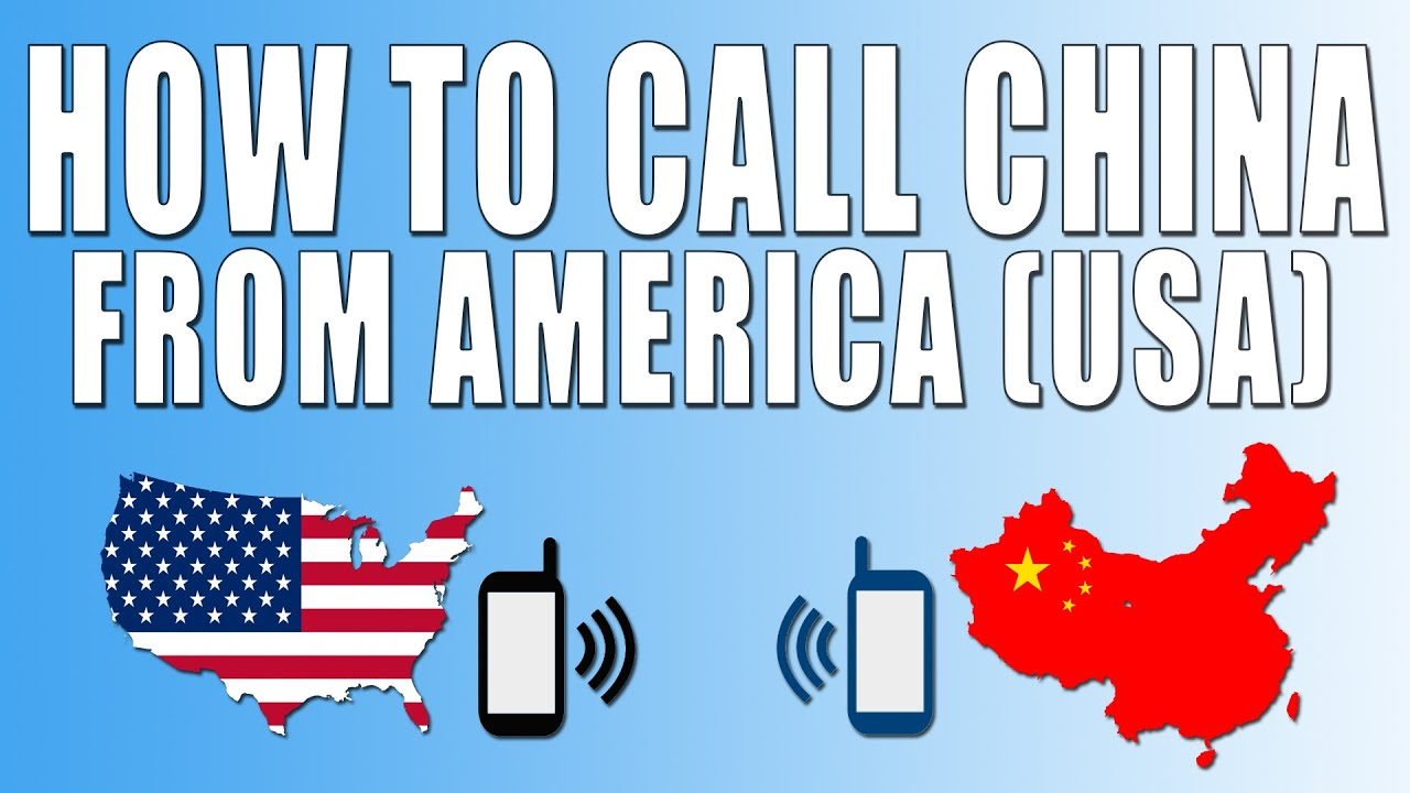 How to Call China