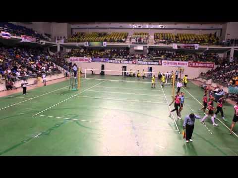 Haluan Kepri Volleyball Batam International Open 2013 - Sisaket vs UNP