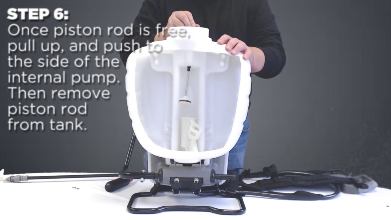 Replacing Seals and Gaskets on a No Leak Pump Backpack Sprayer