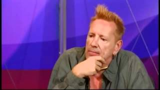 John Lydon Question Time on Drugs