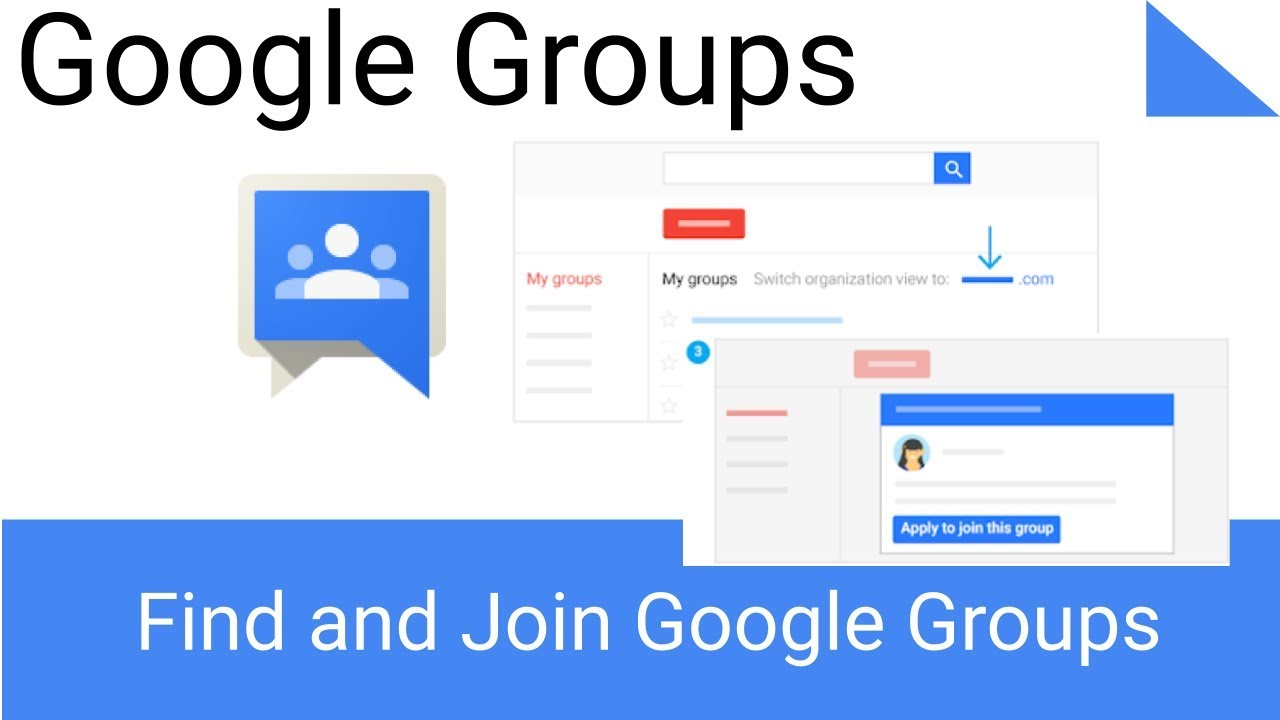 How To Find And Join Google Groups Youtube