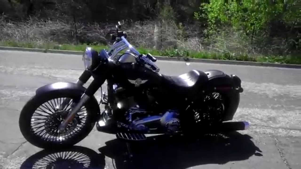 Harley Davidson 2010 Fat Boy Lo Youtube