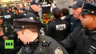 New York : une manifestation contre la brutalité policière a mal tourné pour ses participants