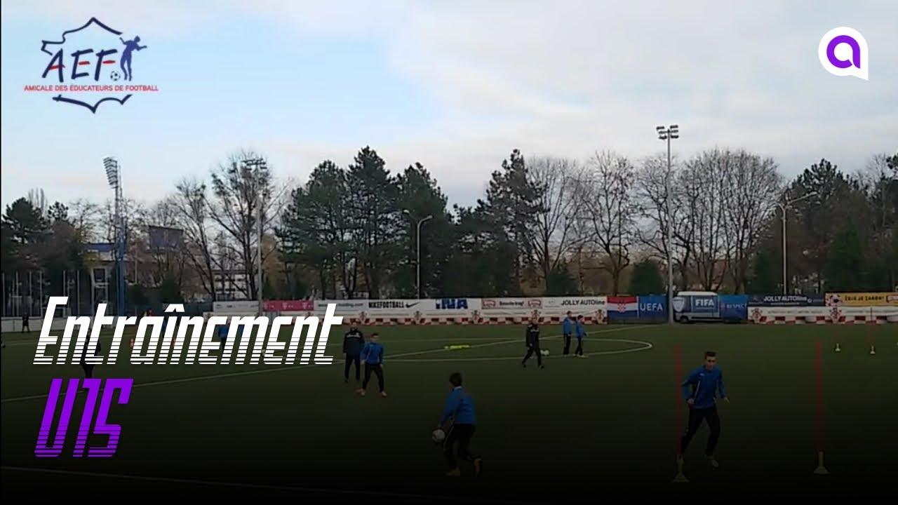 Entrainement des U15 du Dinamo Zagreb - YouTube