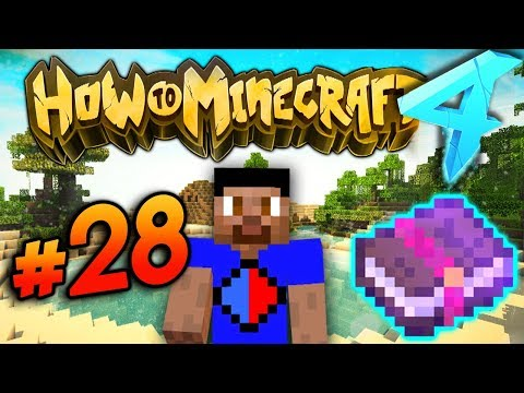 Download Youtube: GETTING THE BEST ENCHANTS! - HOW TO MINECRAFT S4 #28