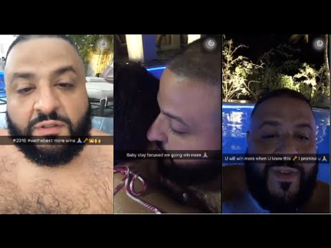 dj khaled snapchat compilation