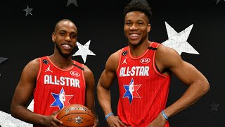 All-Access: All-Star 2020 Giannis Antetokounmpo and Khris Middleton | Exclusive Footage From Chicago