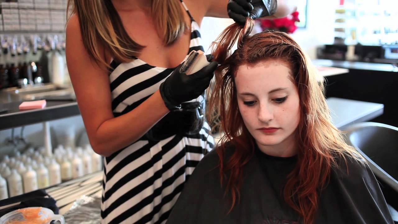 Treo Salon- Aveda Full Spectrum Hair Color - YouTube