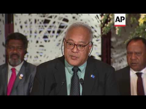 Pacific island nations meet in Tokyo