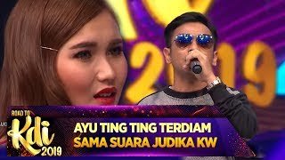 Download lagu MIRIP BGT AYU TING TING Pangling Sama Suara JUDIKA KW Road To KDI 2019