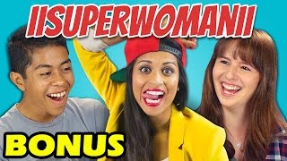 TEENS REACT TO IISUPERWOMANII (BONUS # 99)