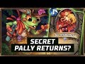 Secret Pally Returns? | Secret Paladin | The Boomsday Project | Hearthstone