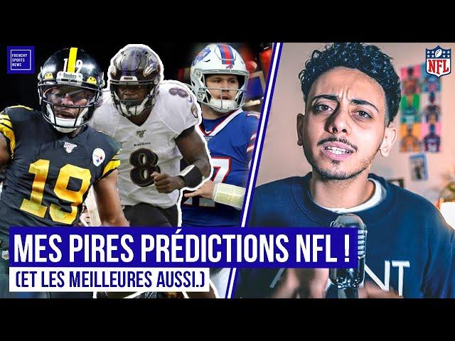 MES PIRES PRÉDICTIONS NFL ! ET LES MEILLEURES AUSSI.