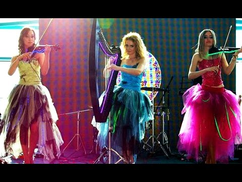 International Female Russian Girls Violin Cello Band For Indian Wedding Bollywood Music