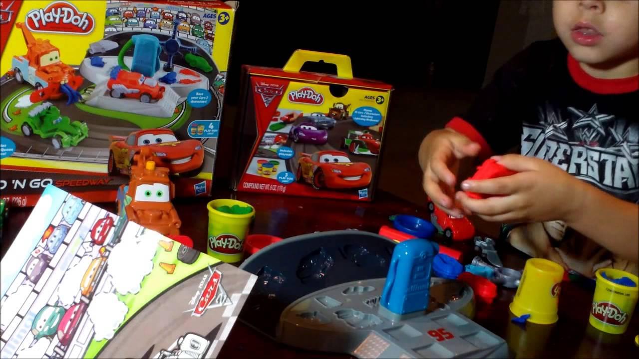 Play Doh Cars  Mold N Go