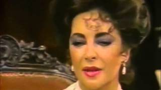 Elizabeth Taylor: Little Foxes Interview