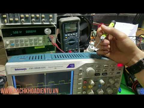 Băng thông và tốc độ lấy mẫu là gì? Cách chọn mua máy hiện sóng oscilloscope