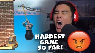 I'VE NEVER HAD A GAME MAKE ME BREAK DOWN LIKE THIS | Getting Over it (Rage Game)