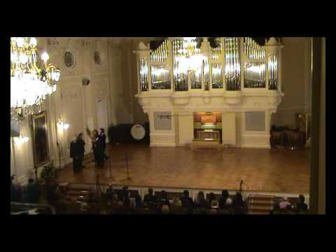 The Official Inauguration of the organ in Saint Petersburg Conservatory (6)