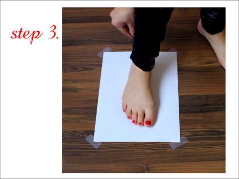 How To Take Measurements Of Your Foot For Best Fit Dance Shoes?