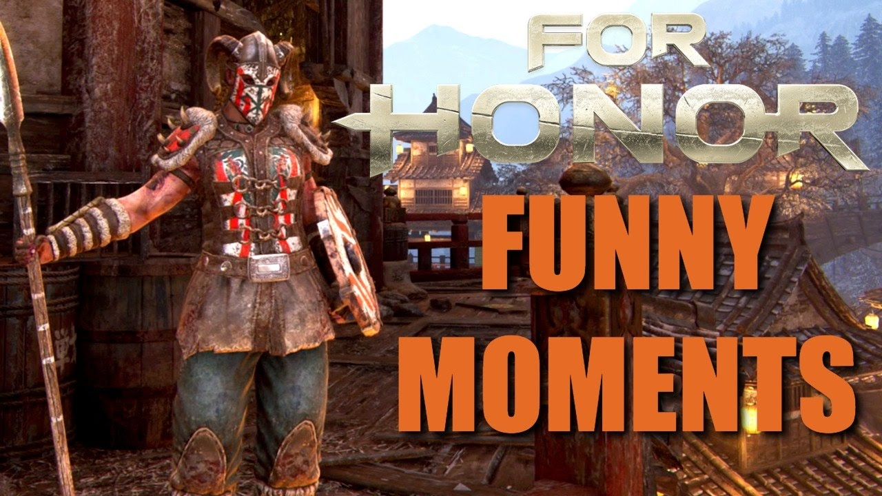 Download For Honor Funny Moments - Rage, Getting Pushed Off, Deaths & More!