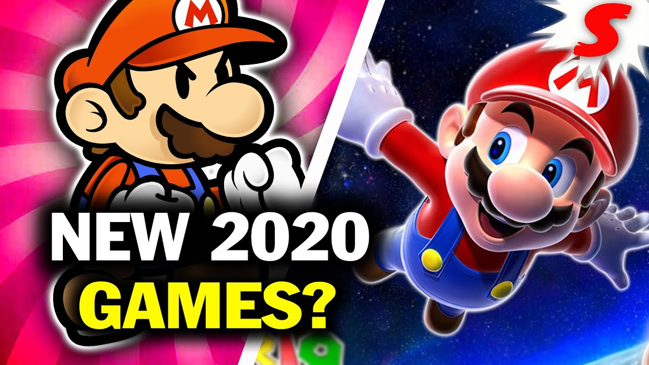 What New Mario Games Will Release On Switch In 2020 Siiroth