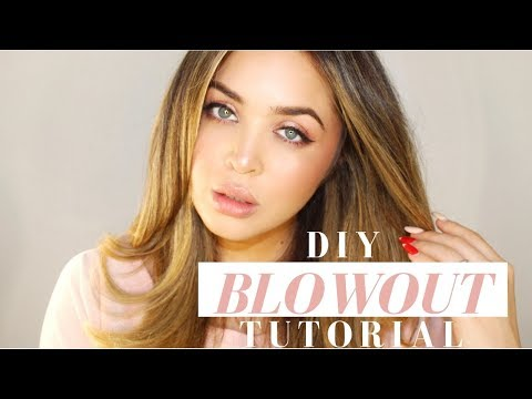 DIY Blowout Tutorial for Curly Hair