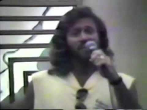 Barry and Maurice Gibb rehearsals for Love&Hope Ball 1988 part 1