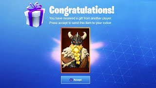 COMMENT GET A LEGENDARY FREE SKIN IN FORTNITE
