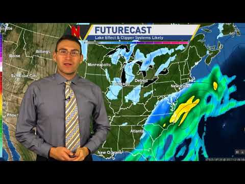 Weekly Forecast: Cold & Snow On The Way