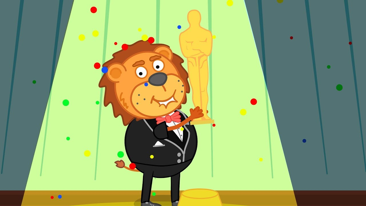 Lion Family Best Bow Tie trend at the Oscar Cartoon for Kids