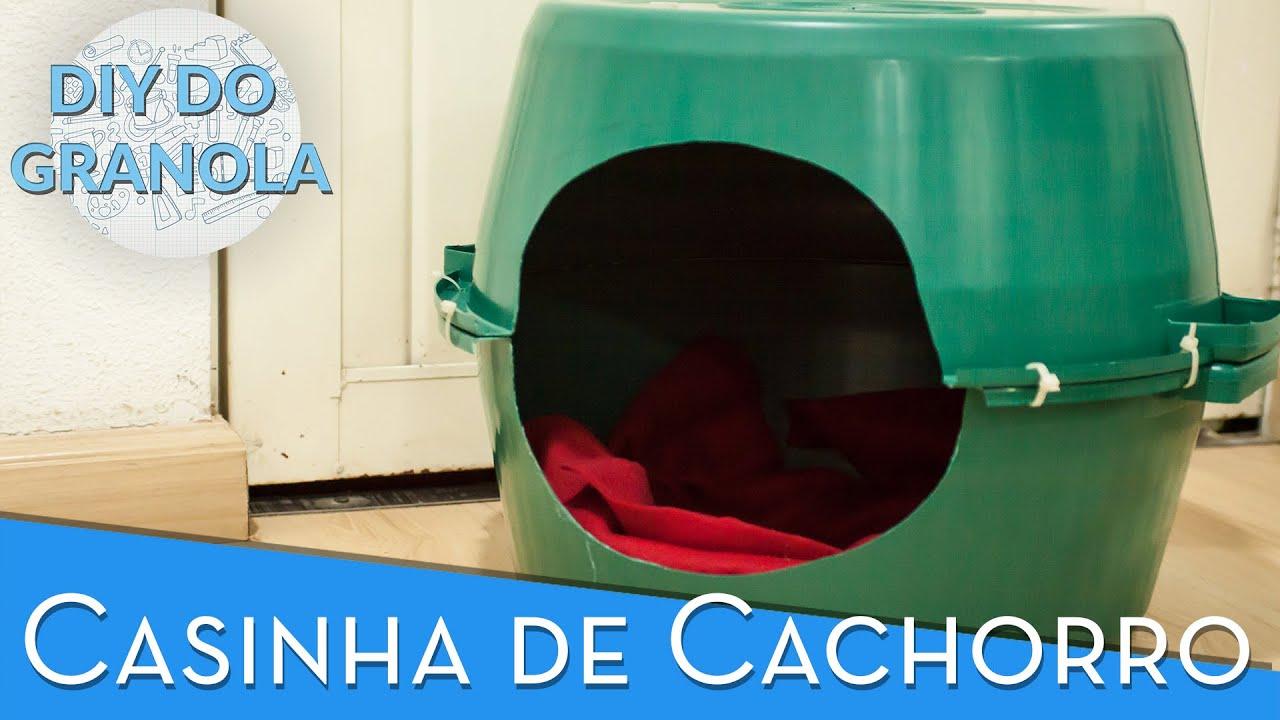 Extremamente DIY do Granola: Como fazer uma casinha de cachorro - YouTube HZ89