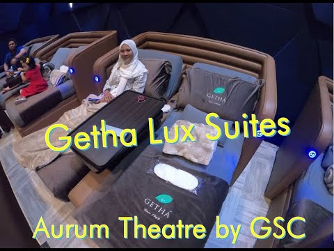 Getha Lux Suites Aurum Theatre - Most Luxury Cinema Hall @ GSC Mid Valley Southkey (JUMANJI)