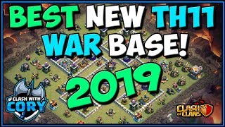 BEST NEW TH11 WAR BASE 2019! with Proof! Best of CWL Invite Clash of Clans COC