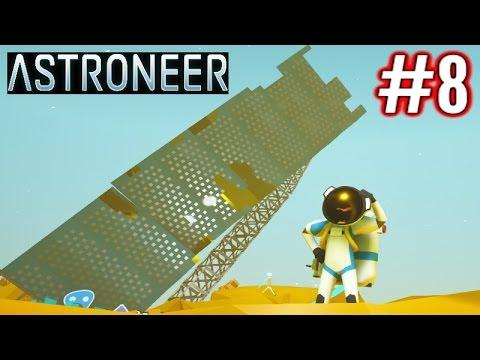 Astroneer Gameplay Ep 8 Giant Solar Panel Youtube