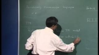 Mod-01 Lec-37 Notion of non-acceptance or rejection of a string by a TM. Multitrack TM