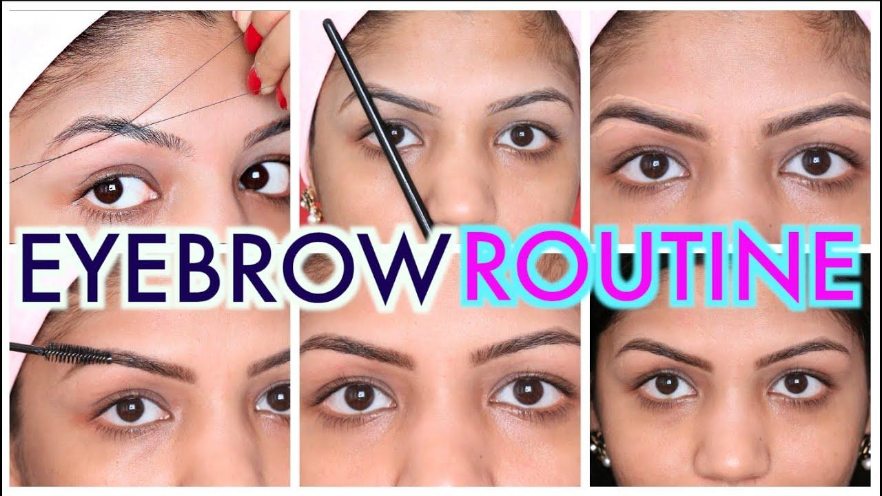 Eyebrow Threading Tutorial Step By Step Superprincessjo Youtube