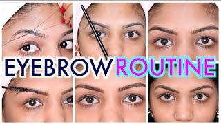 How To Eyebrow Threading Tutorial |Step By Step |SuperPrincessjo