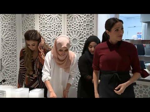 شاهد: دوقة ساسيكس ميغان ميركل تطبخ في مركز المنار للتراث الثقافي الإسلامي…  - نشر قبل 58 دقيقة