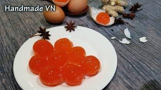 TRỨNG MUỐI - Cách làm trứng vịt muối đơn giản